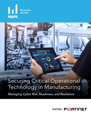 Securing Critical Operational Technology in Manufacturing
