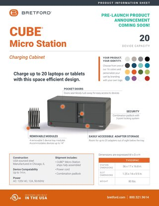 CUBE Microstation 20 -Information Sheet