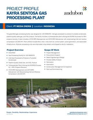 Kayra Sentosa Gas Processing Plant