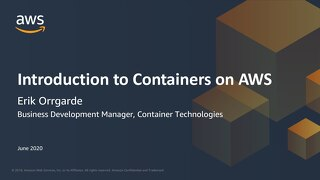 Introduction to Containers on AWS - slides