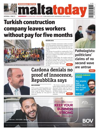 MaltaToday 3 June 2020 MIDWEEK