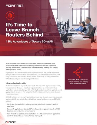 It's Time to Leave Branch Routers Behind