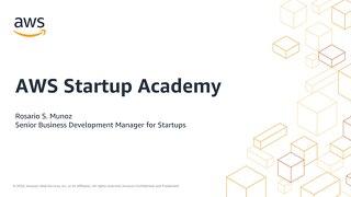 AWS Startup Academy #3: Seguridad, prioridad 1 (diapositivas)