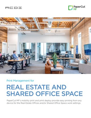 PaperCut RealEstate & Shared Office Space