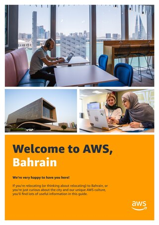 Welcome to AWS, Bahrain