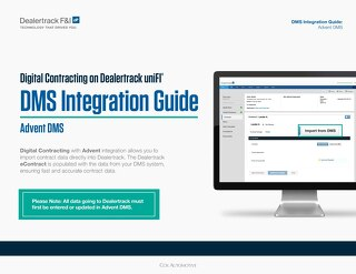 Digital Contracting DMS Integration Guide – Advent