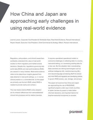 Real-world Evidence in APAC
