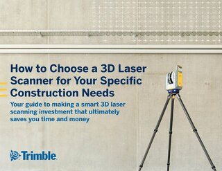 How to Choose a 3D Laser Scanner for Your Specific Construction Needs