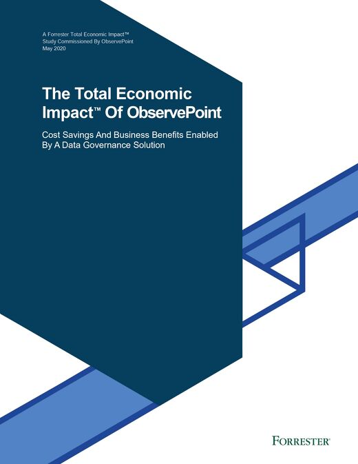 The Total Economic Impact™ of ObservePoint