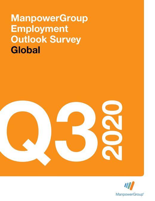 ManpowerGroup Employment Outlook Q3 2020