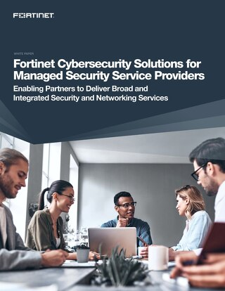 Fortinet MSSP Cybersecurity Solutions