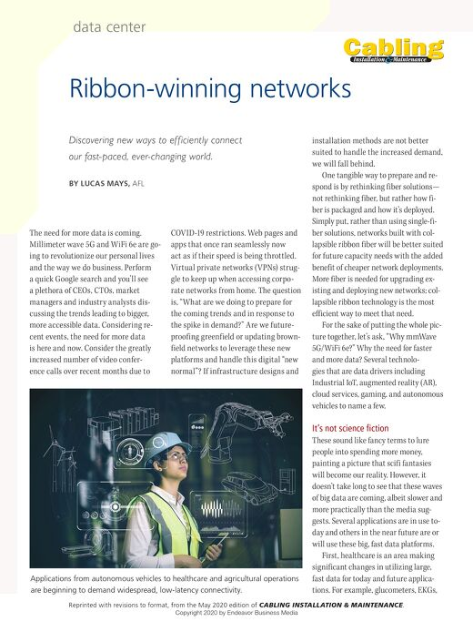 Ribbon-Winning Networks