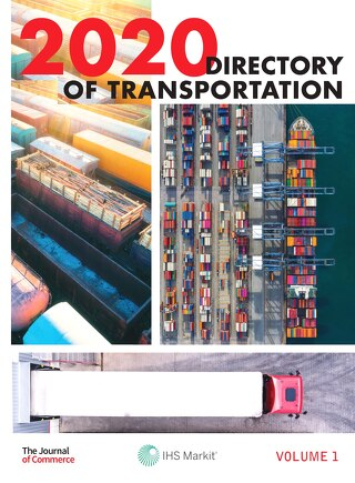 The Directory of Transportation Volume 1, 2020