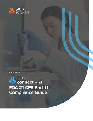 Jama Connect™ and FDA 21 CFR Part 11