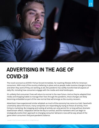 Advertising In The Age Of COVID-19