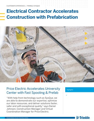 Electrical Contractor Accelerates Construction with Prefabrication