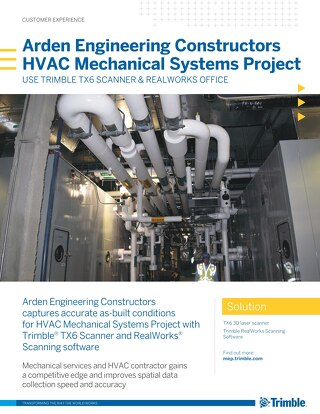 Arden Engineering Constructors HVAC Mechanical Systems Project