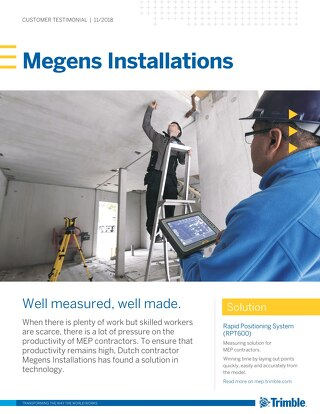 Megens Installations: Well measured, well made.