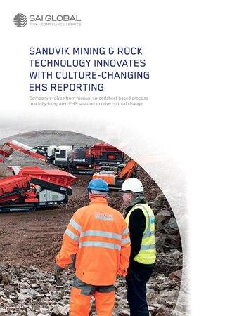 Sandvik Mining and Rock Mining EHS Case Study for SAI Global