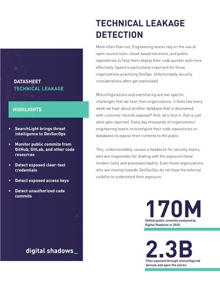Technical Leakage Detection Overview