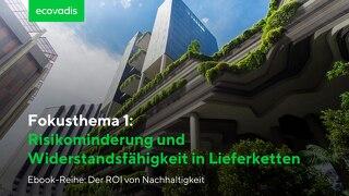 ROI-Fokusthema 1: Risikominderung und Widerstandsfähigkeit in Lieferketten
