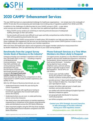 Flyer - 2020 CAHPS Enhancement Services