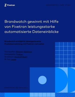 Fivetran und BigQuery (Bandwatch Fallstudie)