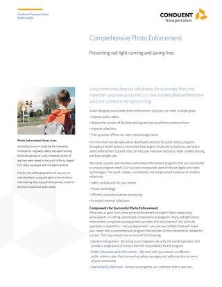 Comprehensive Photo Enforcement - Brochure