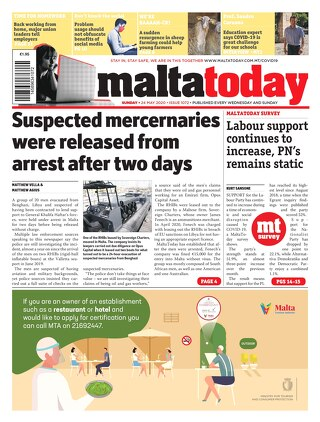 MALTATODAY 24 May 2020