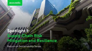 Spotlight 1: Supply Chain Risk Mitigation and Resilience