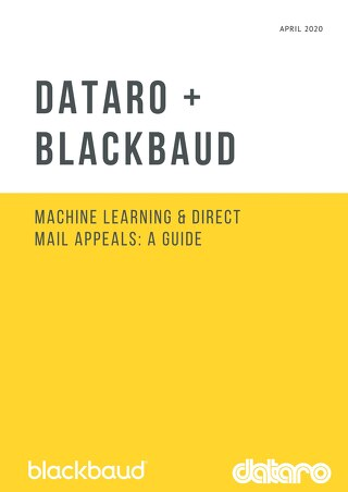 Dataro - Machine Learning and DM Appeals Guide