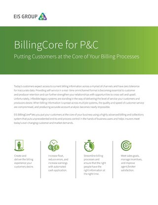 BillingCore for P&C (2015)