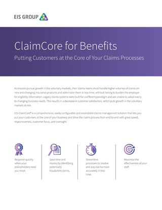 ClaimCore for Benefits (2015)