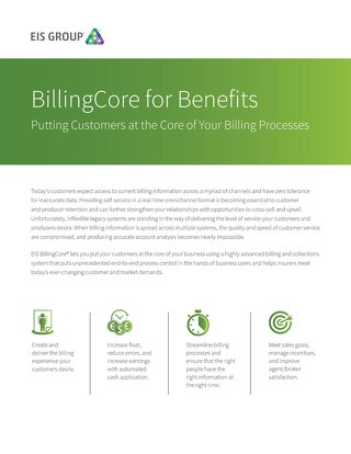 BillingCore for Benefits (2015)