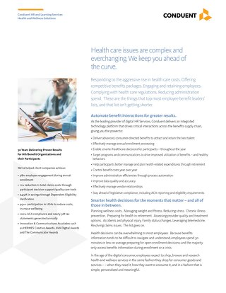 HRS Health and Wellness Solutions Overview