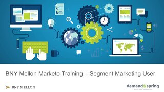 Segment Marketing Marketo Training November 2018