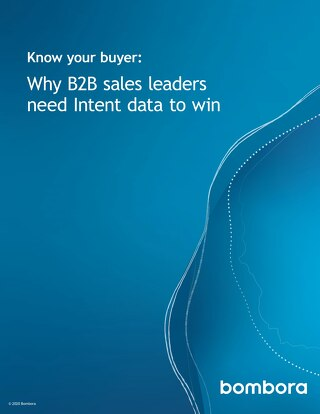 Know your buyer: Why B2B sales leaders need Intent data to win
