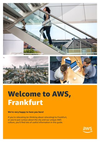 Welcome to AWS, Frankfurt