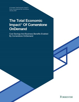 The Total Economic Impact of Cornerstone OnDemand