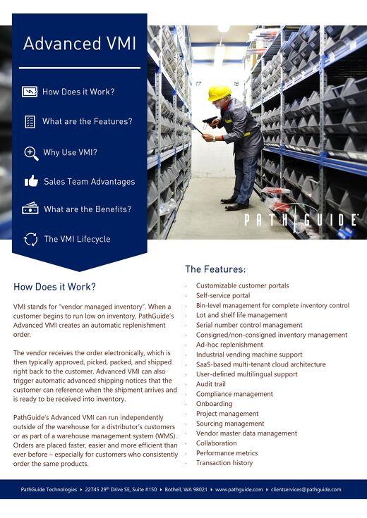 Advanced VMI Data Sheet
