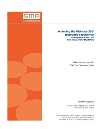 SMA - Achieving the Ultimate 360-Degree Insurance Experience