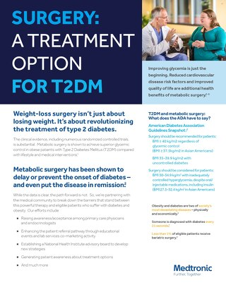 Surgery: A Treatment Option for T2DM