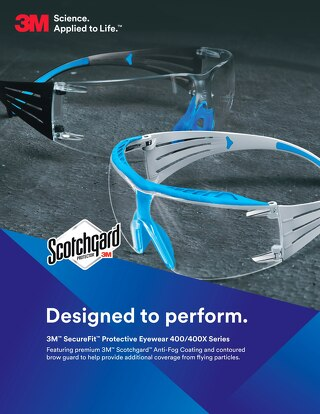 3M™ SecureFit™ Protective Eyewear 400/400X Series