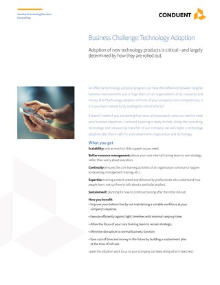 Business Challenge: Technology Adoption