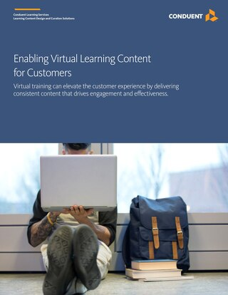 Enabling Virtual Learning Content for Customers