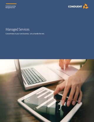 Managed Services: Concentrate on your core business