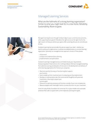 Managed Learning Services