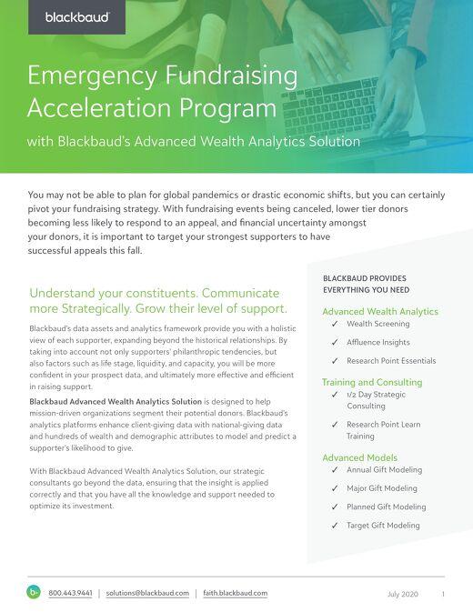 Emergency Fundraising Acceleration Program_final