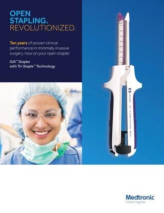 Info Sheet: GIA™ Stapler with Tri-Staple™ Technology