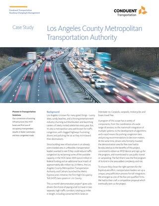 Case Study - LA Metro Lanes